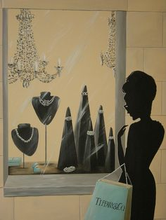 Breakfast at Tiffany's Mural - Model Home