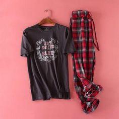 Plus Size 100% cotton pyjamas men pijama hombre masculino short-sleeve  casual mens Sleepwear pijamas pajamas sets for male 100kg 0cfd0a100