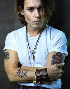 Johny Depp! Can't wait until he meets me and realizes we're soul mates ♥