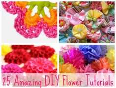 DIY Flower Tutorials You Must Try
