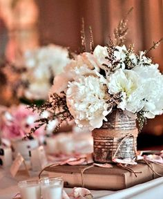 Wedding Ideas : Wedding Style - Wedding Details for the Bibliophiles!