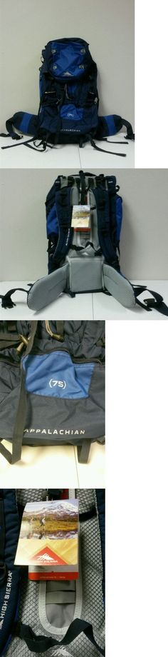 Other Camping Hiking Backpacks 36109: High Sierra Appalachian 75 Internal Frame Pack True Navy/Royal/True Navy 58436 BUY IT NOW ONLY: $79.99