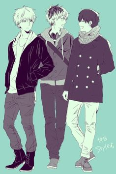 White Haired Kaneki, Dork Kaneki and Haise