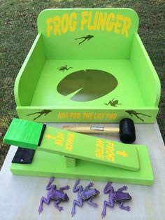 Frog Flinger Carnival Game by NorTexEvents on Etsy
