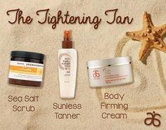 Tighten and tan all in one! Love simplicity! Get it here - www.EnvyLynzee.myarbonne.com #arbonne #tan #summer #selftanner