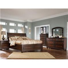 ashley furniture porter bedroom