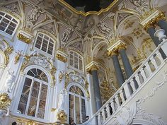 Inside The Hermitage (Winter Palace)., St. Petersburg, Russia