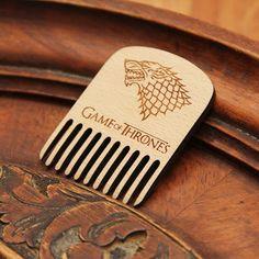Game of thrones wood beard comb,  New season, new combs