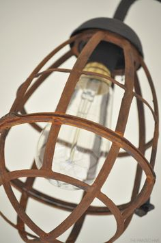 The Painted Hive   Industrial Sconce Light Makeover These are fantastic! and relatively easy to make