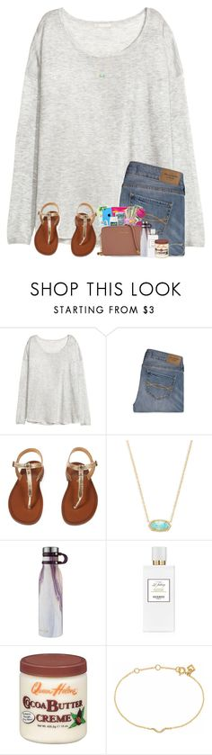 """Remember: God loves you!!!"" by preppyandsouthern17 ❤ liked on Polyvore featuring H&M, Abercrombie & Fitch, Kendra Scott, Contigo, Hermès and Maya Magal"