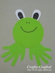 What a cute frog!
