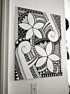 Inspiration for DIY! Polynesian Designs, Polynesian Tribal, Maori Designs, Hawaiian Tribal, Hawaiian Art, Samoan Designs, Tribal Drawings, Tribal Art, Art Drawings
