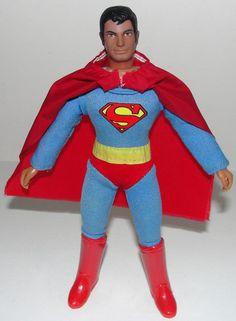 Superheroes 1970's mego superman
