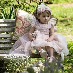 new collection available also in off white Little Princess, New Dress, Off White, Flower Girl Dresses, Wedding Dresses, Pink, Collection, Fashion, Bride Dresses