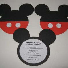 printable mickey mouse invitations