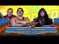 "Andre the Giant vs. Undertaker: ""WWE 2K14"" fantasy match"
