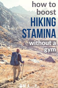 Use these tips to increase hiking stamina when you're stuck at home without a gym. This article shows you how to get the most out of short workouts, plus helpful time management tips. #missadventurepants #hiking #backpacking #mountaineering Short Workouts, Beach Workouts, At Home Workouts, Hiking Training, Training Plan, Training Programs, Strength Training, Hiking Tips, Camping And Hiking
