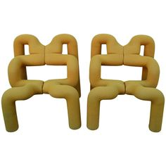 "Sculptural ""Ekstrem"" Lounge Chair by Terje Ekström 1"