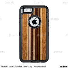 Nalu Lua Faux Koa Wood Surfboard OtterBox iPhone 6/6s Case