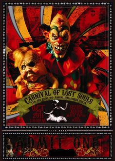invites																		 Originally Posted by ELH(Erin Loves Halloween)													I was doing a zombie themed party and have awesome invitations, but due to other things going on had to switch it. Here is my Carnival Invite. I will post pics of it all put    together. This is going to be rolled up in a scroll. I printed it out through Vistaprint and the color is amazing 						Amazing, i'm so jealous. The invite i di