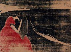 Edvard Munch. Evening. Melancholy 1896