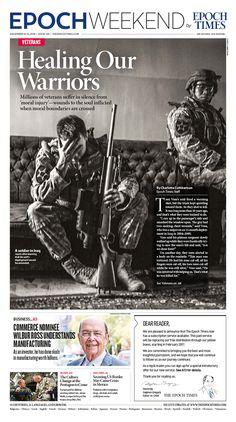 Healing Our Warriors|Epoch Times #newspaper #editorialdesign