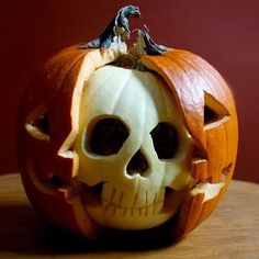 Tagged by the always amazing @horrorjacob for a pumpkin that describes me  underneath we're all the same #jackolantern