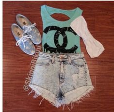Chanel cute outfit