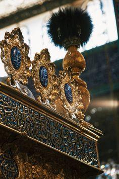 Tomb of Zainab Bint Ali in Damascus, Syria Labaik Ya Hussain, Imam Hussain Karbala, Imam Hussain Poetry, 3d Desktop Wallpaper, Battle Of Karbala, Imam Hussain Wallpapers, Karbala Photography, Islamic Society, Mola Ali