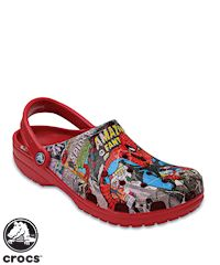 Crocs™ Unisex Classic Spiderman Nursing Shoe