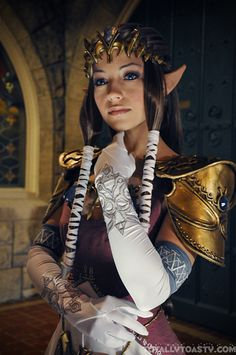 Akuriko as Princess Zelda, Cosplay - The Legend Of Zelda. - TEAM LANE