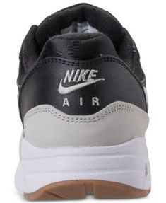sports shoes ea02b f8c98 Nike Boys  Air Max 1 Running Sneakers from Finish Line - Black 7