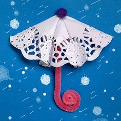 Manualitat per infants. Paraigües:
