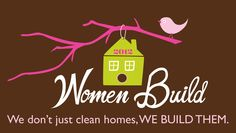 Habitat for Humanity Women Build Logo by Fiber Based Design