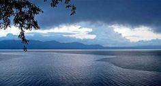 Beautiful Panoramic Of Lake Tondano
