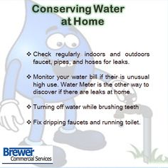 Water conservation tips on pinterest ways to save water for Ways to save water at home