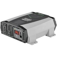 Cobra Electronics 2.1a Usb 12-volt Dc To 120-volt Ac Power Inverter (1,500 Watts)