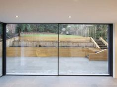 Schiebe-Terrassentür / Aluminium / Doppelverglasung - KELLER minimal windows® : DESIGN - KELLER AG