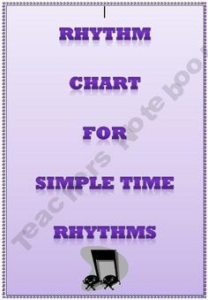 Music: Rhythm Chart