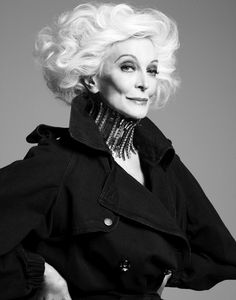 Carmen Dell'Orefice by David Roemer