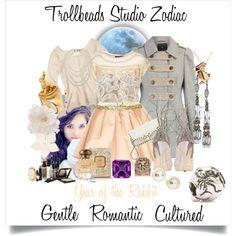 """Trollbeads Zodiac- Year of the Rabbit"" by trollbeadsstudio on Polyvore"