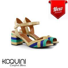 Altura perfeita pra usar o dia todo, sem falar que é lindíssima nos pés #koquini #comfortshoes #euquero #saltobloco #tresse Compre Online: http://koqu.in/2bO7ktP