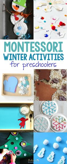 30+ Best Montessori Winter Activities for Preschool and Kindergarten, Montessori Winter Sensory Bins, Montessori Winter Themes, snowflake activities, penguins, the Arctic, Antarctica, Snow Activities, winter animal ideas #Montessori #Winteractivities #preschool #preschoolers