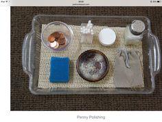 Penny polishing