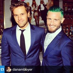 Dan Amboyer and Nico Tortorella at the Younger premiere party! Click to watch an episode of Younger now!