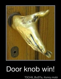 doorknob win