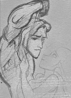 When Tarzan first meets Jane, and he presses his hand against her's, he has so much wonder in his eyes at seeing this person that looks just like him. Glen Keane, supervising animator for Tarzan, said that he drew Tarzan's face with his daughter in mind. He remembered how he felt when he first held his daughter: this new, little life that was just like him. Keane pulled from his own feelings of awe, wonder and amazement, and these beautiful yet simple moments give Tarzan so much emotional…