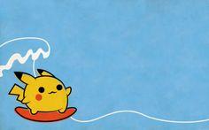 Surfs up Pikachu!