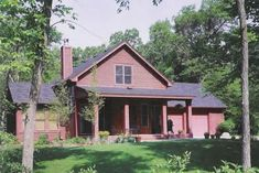 House Plans - Home Plan Details : Little Red House