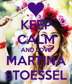 Martina Stoessel All You Need Is Love, Love Her, Martini, Keep Clam, Keep Calm And Love, Her Music, Film, Singer, Idol